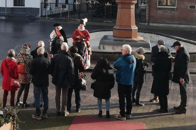 Stadswandeling highTea Leeuwarden